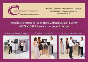 Mobiles Fotostudio Maturaball