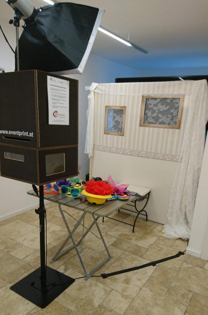 Eventprint FotoBox - Hochzeit Seehof Attersee