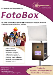 Eventprint FotoBox Flyer