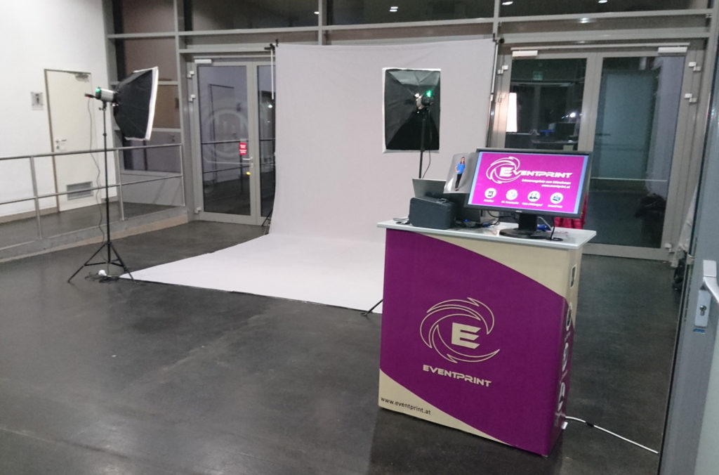 Eventprint Mobiles Fotostudio - Maturaball Messe Ried